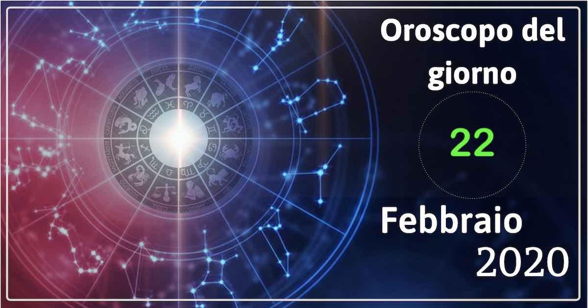 oroscopo 22 febbraio