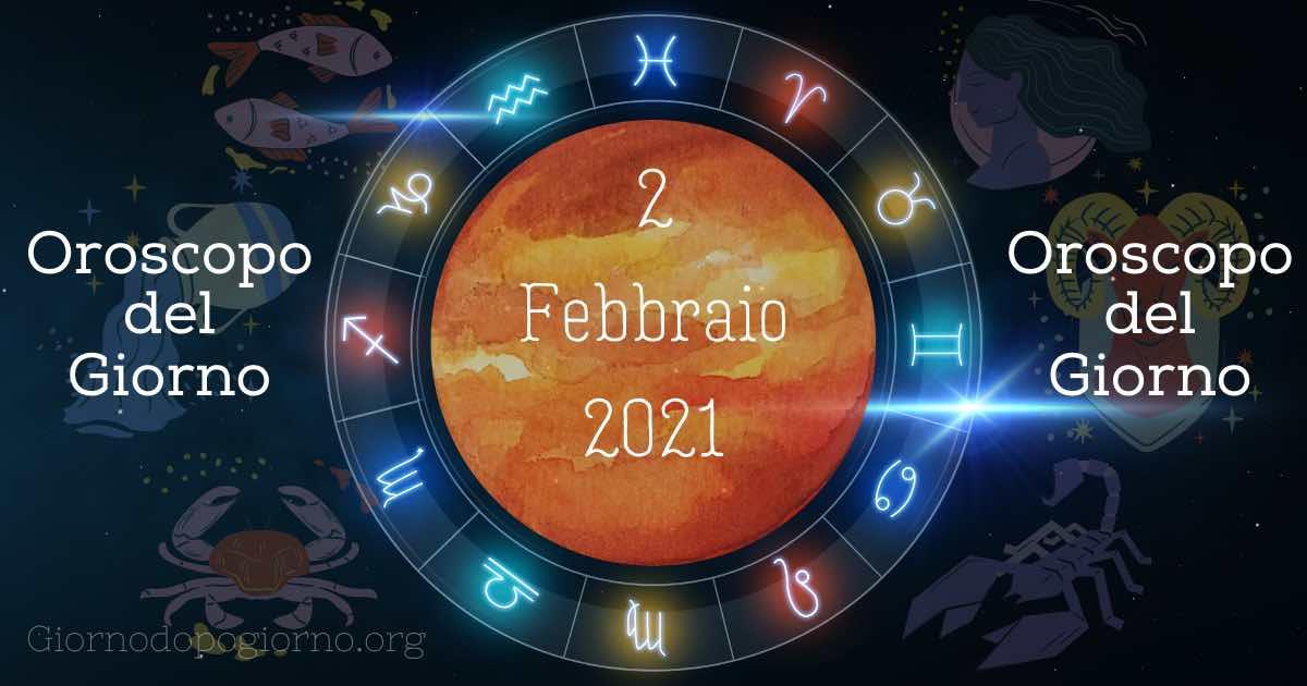 oroscopo del 2 febbraio 2020